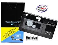 Motorized Vhs-c Cassette Adapter For Jvc C-p7u Cp6bku C-p6u Panasonic Pv-p1