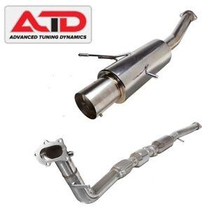 Details about ATD Turbo Back Performance Exhaust Fits Subaru Impreza GC8 GD  EJ20 EJ25 WRX STI