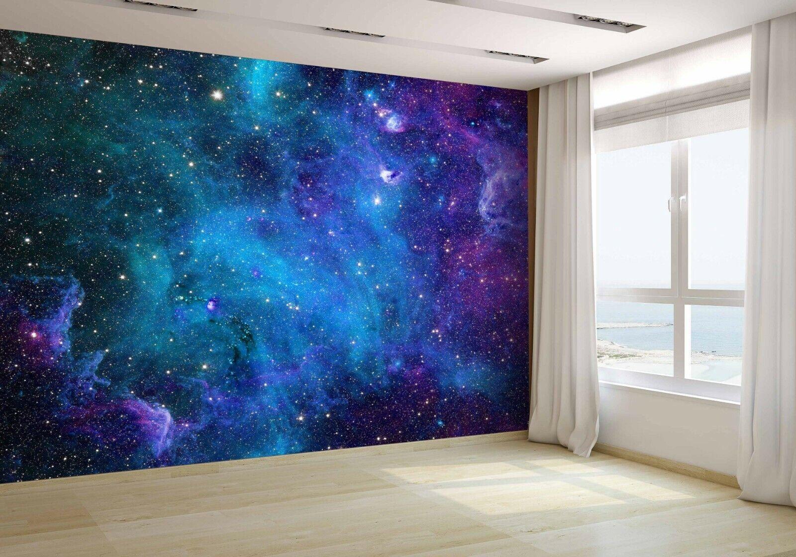 Raum Galaxy Sterne Tapete Wandbild Foto 46112002 Günstiger Papier