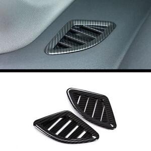 4 Stücke Kohlefaser-Stil Seite Klimaanlage Wind Abdeckung Für BMW X1 F48 16-18