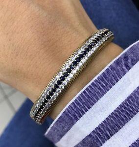 Turkish-Handmade-Onyx-Sterling-Silver-925-Bracelet-Bangle-Cuff