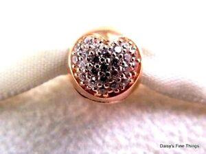 loving pandora clip rose gold
