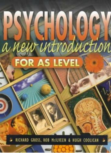 1 of 1 - Psychology: A New Introduction for AS Level,Richard Gross, Hugh Coolican, Dr Ro