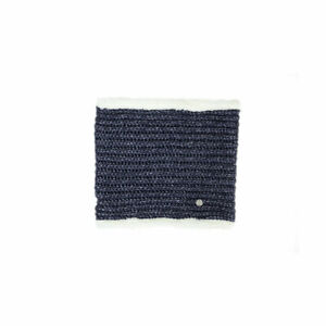 HyFASHION-Avoriaz-Metallic-Fleece-Lined-Knitted-Warm-Snood-Pink-Navy-Silver