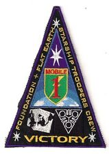 """Starship Troopers VICTORY Crew Promo Patch-5.5"""" Tall- FREE S&H (ITCPA-05)"""