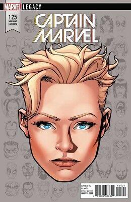 Ms Marvel #25 1:10 McKone Headshot Variant