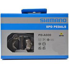 NEW 2017 Shimano PD-A600 SPD Aluminum Road Cycling Pedals & SM-SH51 Cleats: GRAY