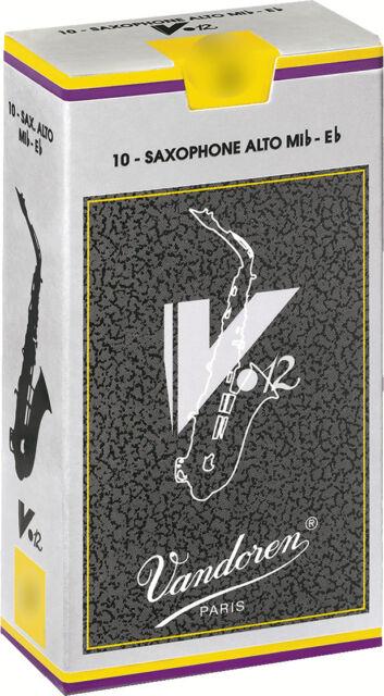 Reed Saxophon Alt- mib/eb Vandoren V12 jazz - Packung 10 Rohrblatt