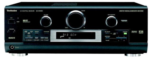 >> Technics SA-DX950 EX-DISPLAY DTS HOME-CINEMA RECEIVER (Marked)