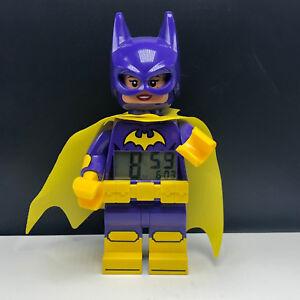 Lego DC Comics Batman Joker Minifigure Working Digital Clock