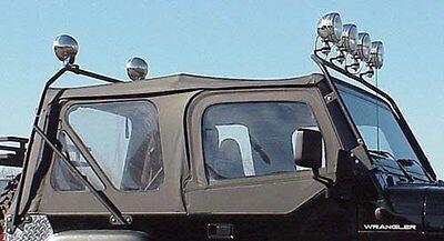 Light Bar Full Frame Stainless for Jeep CJ7 CJ8 Wrangler YJ 1976-1995   RT28009
