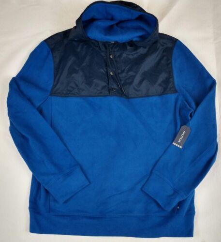 con marino suéter de Nwt de larga manga Nautica azul para hombre capucha Sudadera chaqueta Fwx7qRzdF