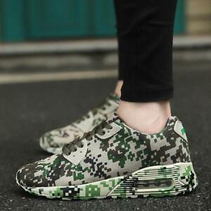 Camouflage-Men-039-s-Hot-Running-Shoes-Outdoor-Sports-Sneakers-Athletic-Size-US-7-10