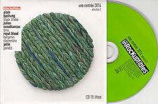 CD CARTONNE CARDSLEEVE 16T ALAIN BASHUNG/YELLE/PARADIS/BLACK STROBE/ROYAL BLOOD