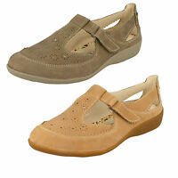 Ladies Padders Casual Extra Wide Fitting Shoes - Daisy