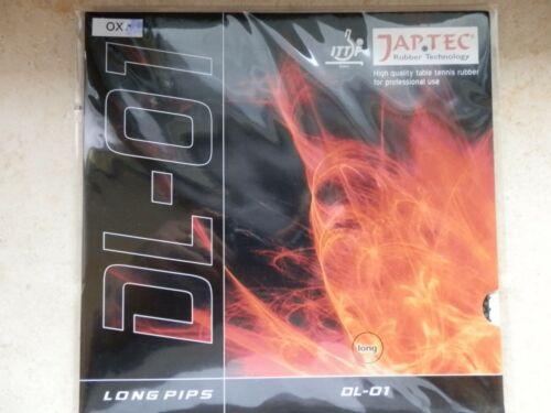 """Japtec TT-Belag  /""""DL-01/"""" lange Noppen  nach ITTF"""