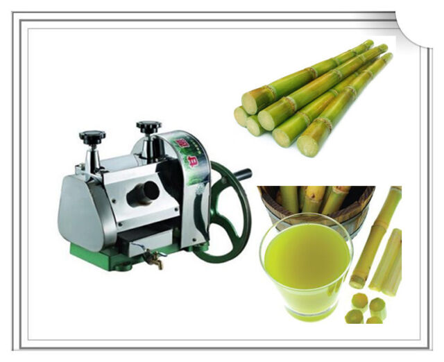 Manual Sugar Cane Juicer Sugarcane Juice Extractor Squeezer Hand Press Machine For Sale Online