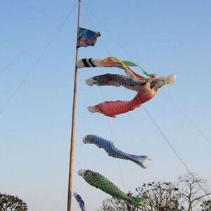 Flying-Kite-Party-40cm-Home-Wind-Fish-Flag-Windsock-Carp-Japanese-Koinobori