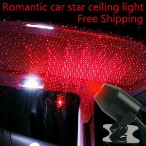 Image Is Loading Usb Car Atmosphere Lamp Interior Ambient Star Light