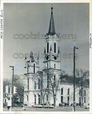 1964 First Presbyterian Church Exterior Columbus Georgia Press Photo