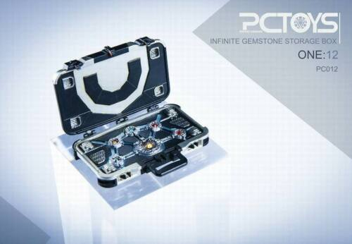 "PCTOYS PC012 1//12 Infinite Gemstone Storage Box w//Light Fit 6/"" Action Figure"