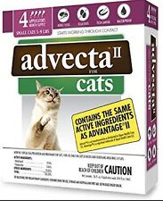 Advecta II Flea Treatment for Cats Over 9 lbs 4 Month 960051060003
