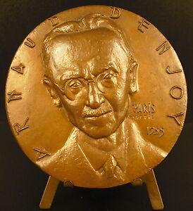 Medaille-Arnaud-Denjoy-theorie-de-l-039-integration-originale-mathematicien-medal