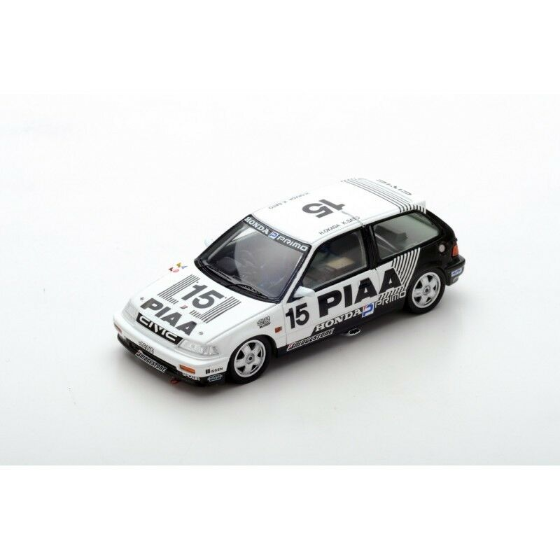 Moderne Moderne Moderne et élégant dans la mode  《 Spark S5456 - HONDA Civic PIAA Nakajima Planning Civic EF3 1989 Okada 1/43 d1745e
