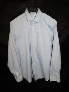 Old-Navy-XL-Blue-Signature-Shirt-Slim-Fit-Built-In-Flex-Non-Iron-Long-Sleeve-Men