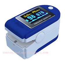 CMS50D Fingertip Pulse Oximeter, Pulsómetro,Oxymetry,Pulsoximeter with 6 colour.