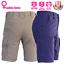 Ladies-Cargo-Work-Shorts-Cotton-Drill-Work-Wear-UPF-50-13-pockets-Modern-Fit thumbnail 13