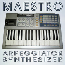 MAESTRO - RARE VINTAGE SOVIET POLY SYNTHESIZER (Ussr,synth,russian,arpegiator)