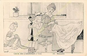 CPA Illustrator Maryel Circa 1914 1918 Series 2 n10