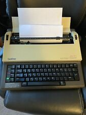Brother Electric Typewriter Ax 10 Working With Ribbon
