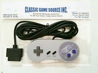 Controller W/ 11 Foot Extra Long Cord For 16 Bit Snes Super Nintendo System