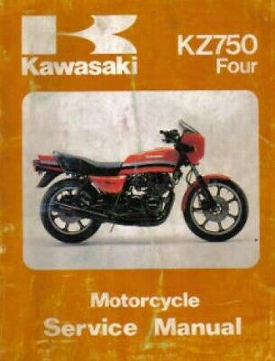 kz750 80 wiring diagram 1980 1983 kawasaki kz750 motorcycle service manual ebay  1980 1983 kawasaki kz750 motorcycle