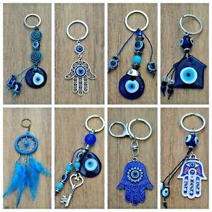 Llavero-mal-de-ojo-azul-nuevo-amuleto-suerte-hamsa-nazar-hombre-mujer-moda