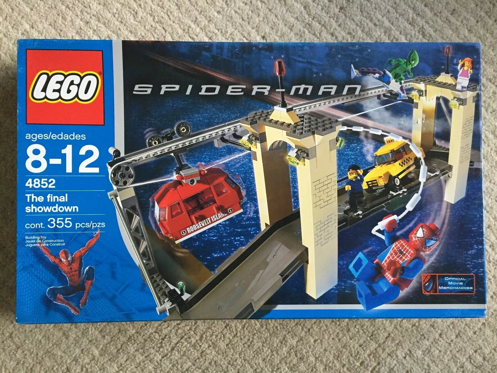 Lego The Final Showdown (4852) Spider-Man. New Factory Sealed Early Minifig