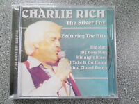 CHARLIE RICH - THE SILVER FOX - CD - ALBUM - (NEW SEALED)
