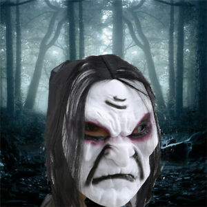 Halloween-Mix-Color-Scary-Zombie-Mask-Adult-Costume-Halloween-Cosplay-Supplies