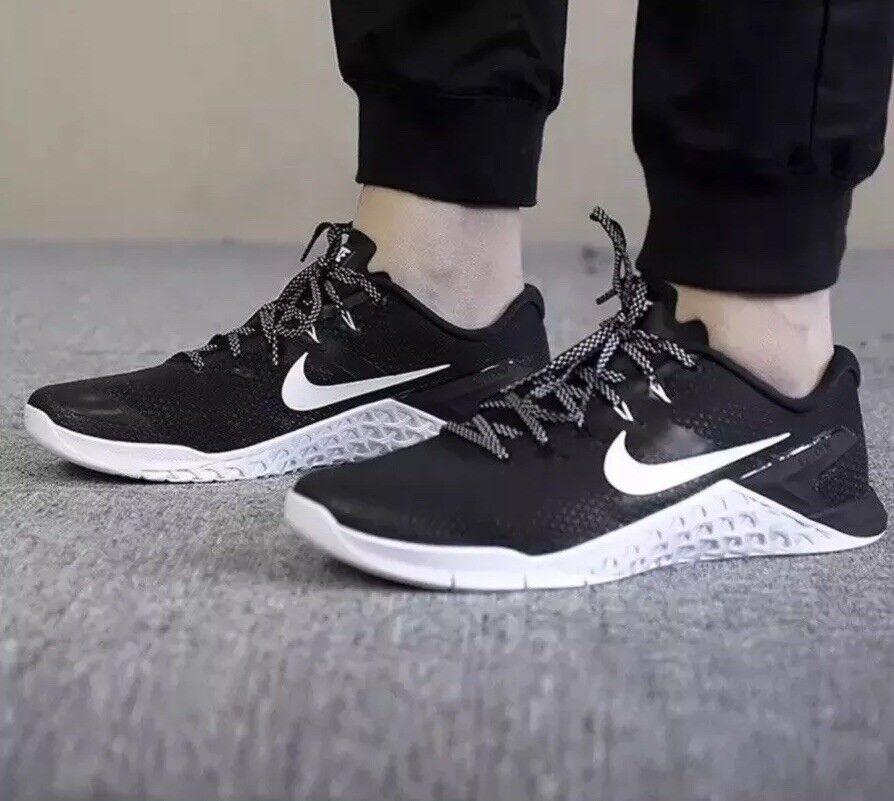 Nike Da Uomo metcon 4 Cross Allenamento Allenamento Allenamento Sollevamento pesi Scarpe  NERO  EU 45 US 11 4f1fef