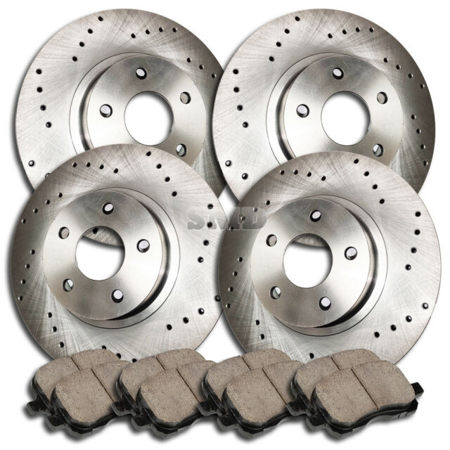 OE Series Rotors + Ceramic Pads Max Brakes Front Premium Brake Kit KT098741 Fits: 2010 10 2011 11 2012 12 2013 13 Chevy Equinox
