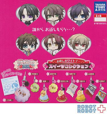 Hakuoki Shinsengumi White Day Sweets Collection Phone Strap x9 pcs Set Mini