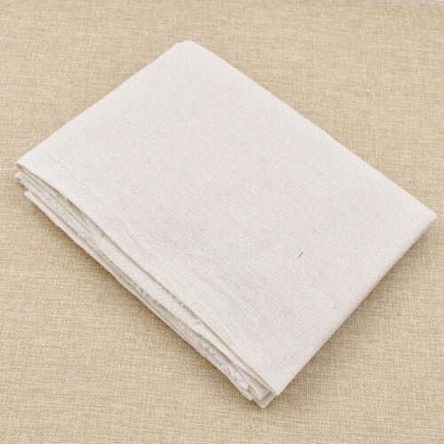 Basic Lino Algodón Tela Mantel Material Natural Hágalo usted mismo Craft Accesorio 1 M