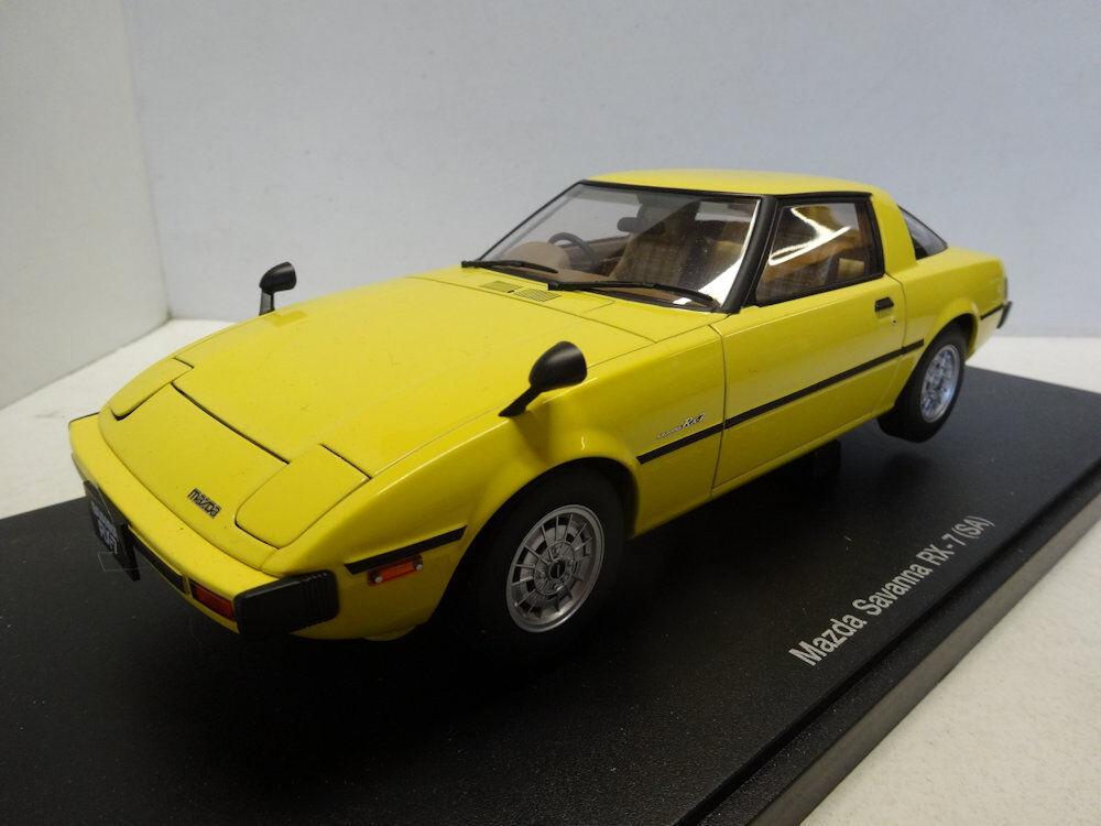 Autoart   Mazda Savanna RX-7 (SA) - Spark giallo 75983