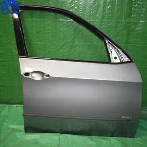 DOOR-FRAME-ASSEMBLY-SHELL-SKIN-FRONT-RIGHT-BMW-E70-X5-07-12-Space-Gray-Metallic