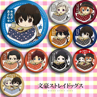 10pcs Sets Badge Pin Button Itabag Bags Garniture Brooch Anime FAIRY TAIL