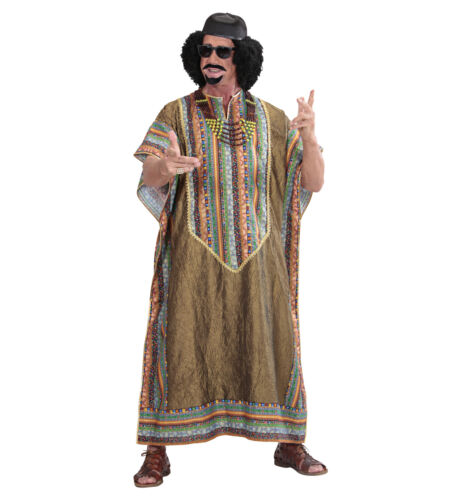 African DITTATORE COLONNELLO GHEDDAFI stile Costume Costume Tunica MEN/'S