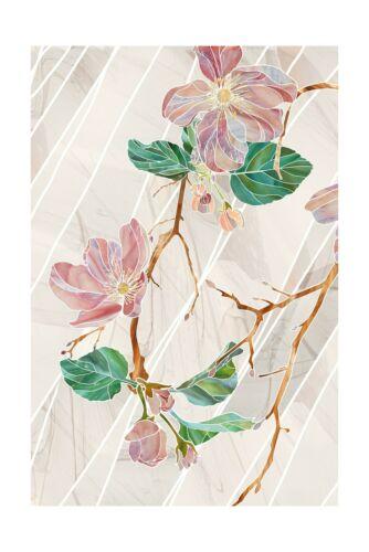 """ARTSCAPE Wild Rose Window Film 24/"""" x 36/"""""""
