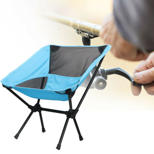 Folding Camping Chair Portable Fishing Beach Outdoor Camping Garden Chairs Stool